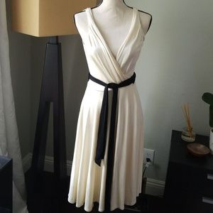 Diane von furstenberg ivory dress 6
